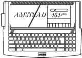 Amstrad 464Plus keyboard