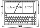 Amstrad 6128Plus keyboard