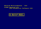 The Amstrad Plus (annoying) boot menu.