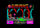 Barbarian 2 - Ingame screen (Ocean & Palace Software, 1990)