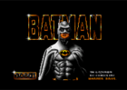 Batman (the movie) - Title screen (Ocean, 1990)