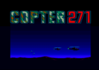 Copter 271 Intro screen (Loriciel, 1991)
