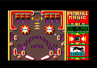 Pinball Magic Ingame screen (Loriciel, 1991)