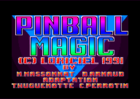 Pinball Magic title screen (Loriciel, 1991)