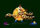 Pro Tennis Tour - Title screen (Ubisoft, 1990)