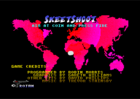 Skeet Shoot - Menu screen (Trojan, 1990)