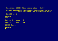 CAT command on disc (CPC 664/6128)