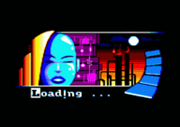 Loading screen of the Sweet megademo (1997)