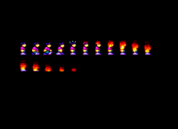 Sprite animation in the cheatpart of Big Cheese 2 (1996)