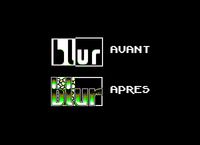 Tom's (Another World) sent me his Blur logo asking what I could do with it. And that's the result. (1999)