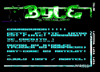 Intro part of the Byte 96 meeting demo (1996)