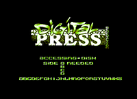 Digital press was a great discmag, but it died a few months after I did this logo... arg! (Unreleased) (1999)