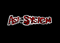 An AST System logo which should have been used in Primal Fight, a game by AST System (Unreleased) (1995)