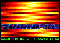 Second turndisc screen I've done for the Virus megademo (Unreleased) (1997)