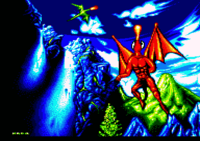 This image originally comes from the game Agony on Amiga.