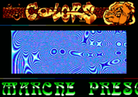 Colors/Rebels - The dog in the Crystal logo originally comes from a logo by Seck in the Amiga demo Jetset by Skidrow.