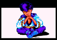 Shand. Original picture named Shanowed by Alex, used in the Museum slideshow by Alcatraz on Amiga.