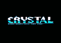 This logo originally comes from Crystal Synphonies (a Music disk) by Rebels on Amiga and was drawn by Uno/Scoopex.
