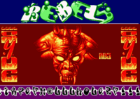 The Rebels logo originally comes from the Great Fun pack by Rebels on Amiga and was drawn by Nugget.